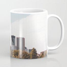 Minneapolis Minnesota Skyline Fall Colors Coffee Mug