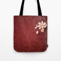 the perks of being a wallflower Tote Bags featuring The Perks of Being a Wallflower by slewisillustration