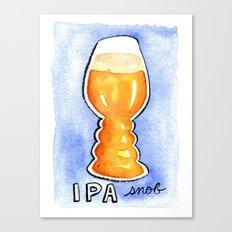 IPA Snob Canvas Print