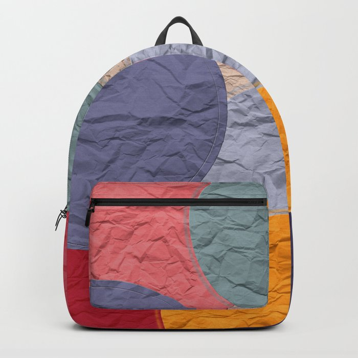 rounds of paper Backpack