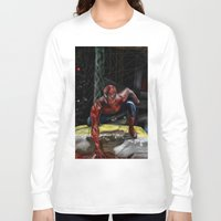 comic book Long Sleeve T-shirts featuring comic by Fila Venom Art