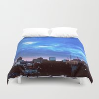 atlanta Duvet Covers featuring Atlanta.  by calvin./CHANCE