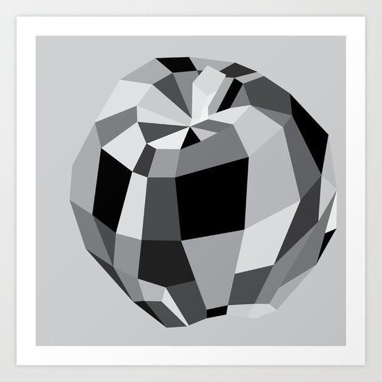 Apple Trilogy - before the first bite Art Print