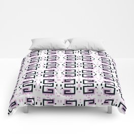 Gently Bold - Pattern Comforters