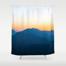 Mighty Himalayan Mountains Shower Curtain