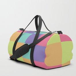 Kids abstract geometry pattern Duffle Bag