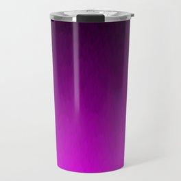 Black Purple Ombre Flames Travel Mug
