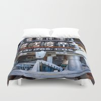 numbers Duvet Covers featuring Numbers by Kent Moody