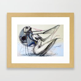 nine hundred Framed Art Print