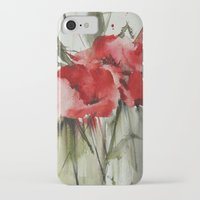 poppy iPhone & iPod Cases featuring poppy# by beautifyprints