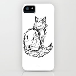 Kitty Gesture iPhone Case