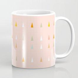 Mini retro tree pattern - Peachy Coffee Mug