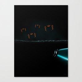 TRON RECOGNIZERS Canvas Print