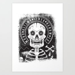 Mors Art Print