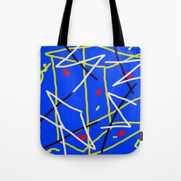 Electric Midnight Tote Bag