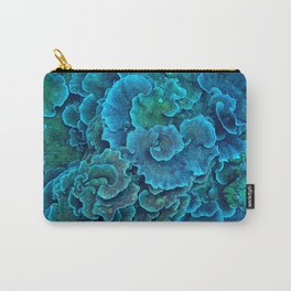 Blue sea creatures Carry-All Pouch