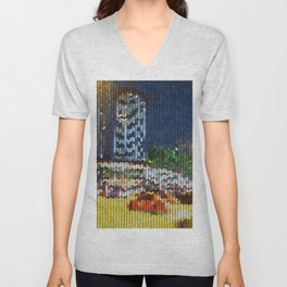 Knitted Orchard-Scotts Unisex V-Neck