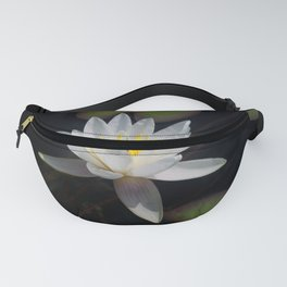 The white nymphaea Fanny Pack