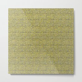 Yellow Room Metal Print