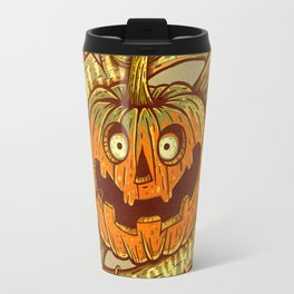 Halloween dark khaki Travel Mug