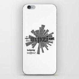 Leipzig Map iPhone Skin