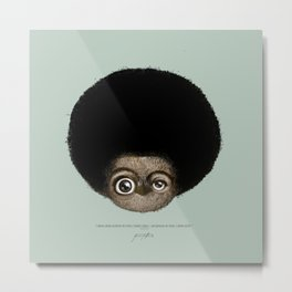 """I am no longer accepting the ... (Angela Y. Davis) Metal Print"