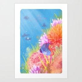 Reef Art Print