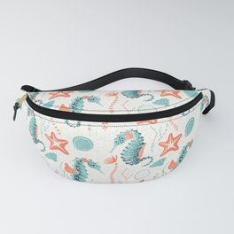 Swim Your Way. Seahorse Light Fanny Pack