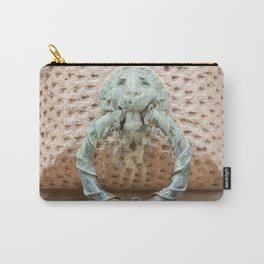 Lion Motif Carry-All Pouch