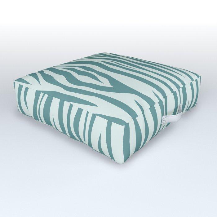 Zebra 004 Outdoor Floor Cushion
