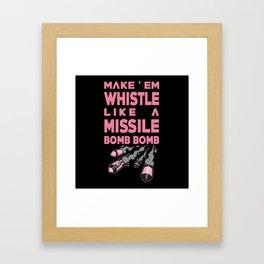 Whistle - BLACKPINK Framed Art Print