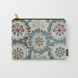 Ferghana Suzani  Northeast Uzbekistan Embroidery Print Carry-All Pouch