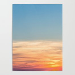 Summer Sunsets Poster