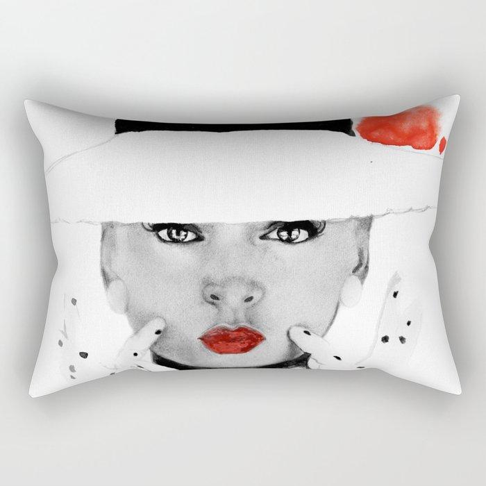 girl jazz 3 Rectangular Pillow