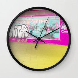 Concrete Blocks Wall Clock