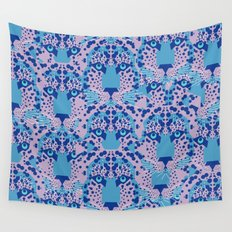 Psychedelic Camouflage Wall Tapestry