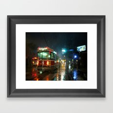 Streetcar Interruptus Framed Art Print