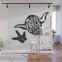 Mat the Force be with you. Wall Mural