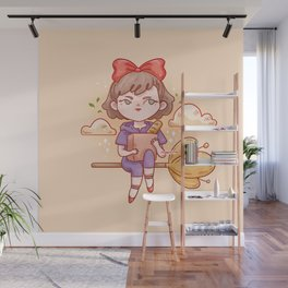 Witch's delivery Wall Mural