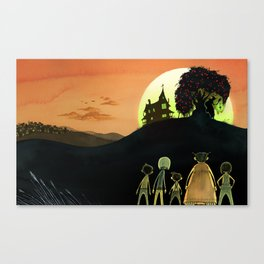 The Pomegranate Witch Canvas Print