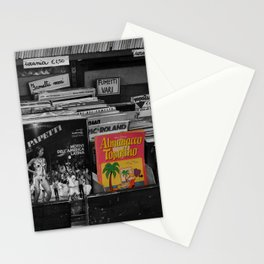 Italian Vintage Comic and Books Black and White & Color Photography Stationery Cards