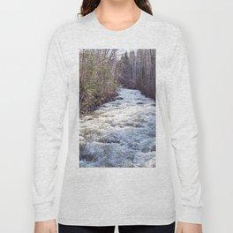 Swollen Creek Runs Wild Long Sleeve T-shirt