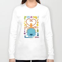 best friends Long Sleeve T-shirts featuring Best Friends by Piktorama