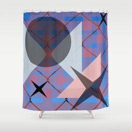 Trix Shower Curtain