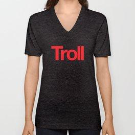 Troll Unisex V-Neck