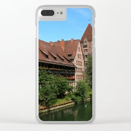 At The Pregnitz - Nuremberg Clear iPhone Case