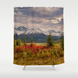 Seasons Turning Shower Curtain