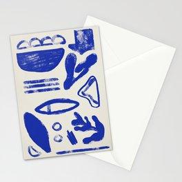 Blue Stuff Stationery Cards