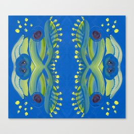 Transitions - Waves of Temporary Tranquility Canvas Print