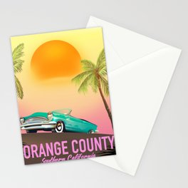 orange county California USA Stationery Cards